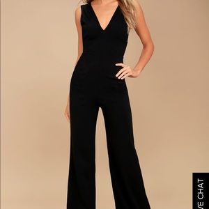 66f0fd0027d Lulu s Other - Ready for it black sleeveless wide-leg jumpsuit